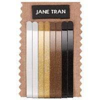 Jane Tran Metallic Hair Slides Pack Of 8 Multi