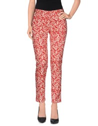 Brian Dales Trousers Casual Trousers Women Red