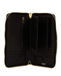 Tom Ford Travel Wallet With Detachable Pouch Black