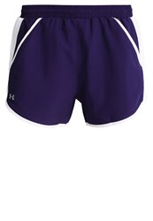 Under Armour Fly By Sports Shorts Purple Dark Purple