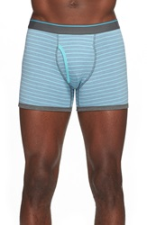 The Rail Stripe Boxer Briefs Blue Red