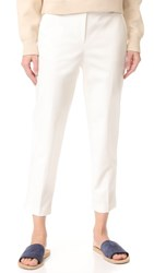 3.1 Phillip Lim Cropped Needle Pants White
