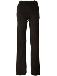 Stouls 'Oswald Velours' Trousers Brown