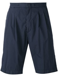Hugo Boss Kendo Shorts Men Cotton Polyimide 50 Blue