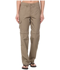 Mountain Hardwear Mirada Convertible Pant Khaki Women's Casual Pants