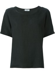 Yves Saint Laurent Vintage Boxy Top Black