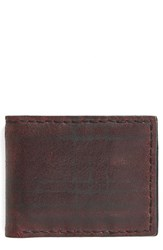 John Varvatos Men's Collection Slim Leather Bifold Wallet