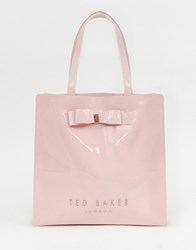 Ted Baker Almacon Bow Large Icon Bag Lt Pink