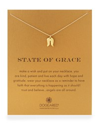 Gold Dipped 'State Of Grace' Necklace Dogeared