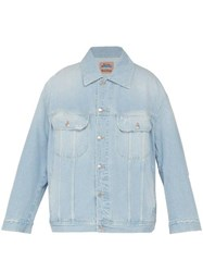 Acne Studios Oversized Denim Jacket Light Blue