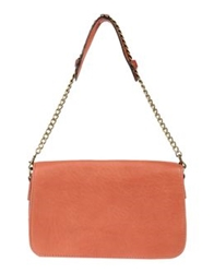 Abaco Medium Leather Bags Rust