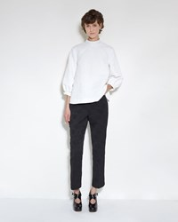 Simone Rocha Cotton Brocade Pant Black
