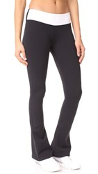 Splits59 Raquel Colorblock Leggings Black White