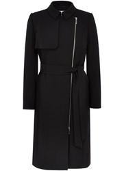 Austin Reed Black Trench Coat