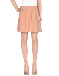 Lou Lou London Skirts Mini Skirts Women Skin Color