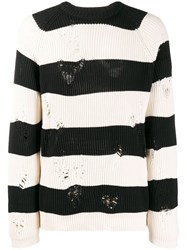 Laneus Striped Distressed Jumper 60