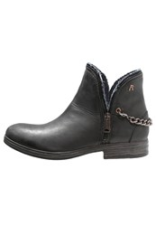 Replay Pandy Cowboy Biker Boots Schwarz Black