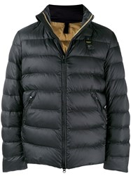 Blauer Puffer Jacket Black
