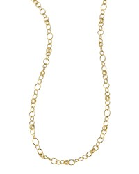 Glamazon 18K Gold Classic Link Long Chain Necklace 33'L Ippolita