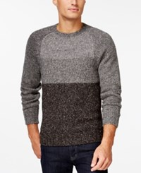 Club Room Colorblock Crew Neck Sweater Only At Macy's