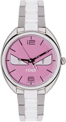Fendi Silver And Pink Momento Bugs Watch