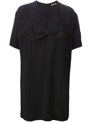 Peter Jensen Bow Cocoon Dress Black