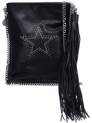Stella Mccartney 'Falabella' Flat Crossbody Bag Black