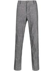 Transit Wrinkle Effect Straight Leg Trousers 60