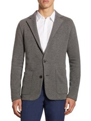 Ralph Lauren Modern Fit Wool And Cashmere Sportcoat Grey