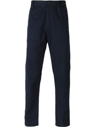 Universal Works 'Aston' Trousers Blue