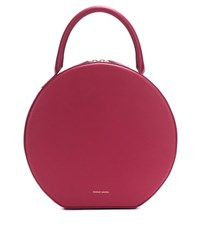 Mansur Gavriel Circle Leather Handbag Red
