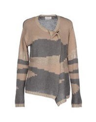 Bella Jones Cardigans Beige