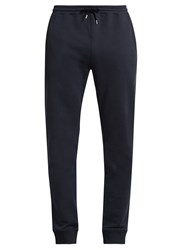 A.P.C. Cotton Jersey Track Pants Navy