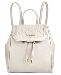 Calvin Klein Quilted Backpack White