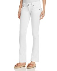 Hudson Signature Bootcut Jeans In White