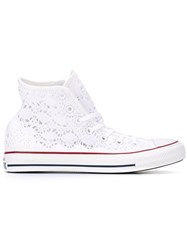 Converse Crochet Sneakers White