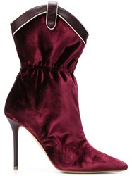 Malone Souliers Daisy Boots Red
