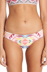 Billabong Women's Geo Print Bikini Bottoms
