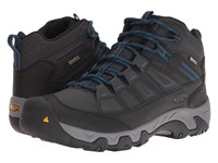 Keen Oakridge Mid Polar Waterproof Black Ink Blue Men's Waterproof Boots