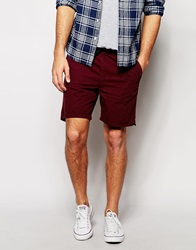 New Look Beach Shorts Burgundy