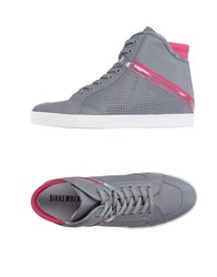 Bikkembergs Footwear High Tops And Trainers Women Grey