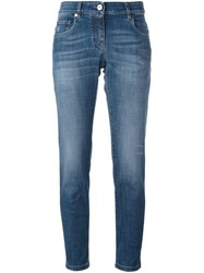 Brunello Cucinelli Ankle Length Jeans Blue