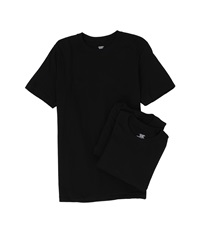 Jockey Cotton Crew Neck T Shirt 3 Pack Black Men's Underwear