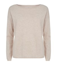 Allude Cashmere Boat Neck Jumper Female Neutral