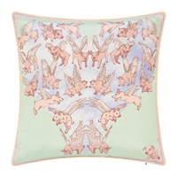 Silken Favours Flying Pigs Cushion