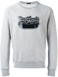 Marc Jacobs Logo Print Sweatshirt Grey