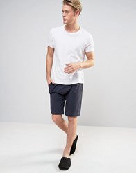 Esprit Lounge Shorts Jersey Navy
