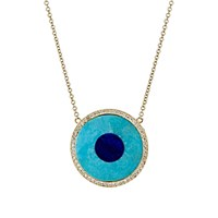 Jennifer Meyer Women's Evil Eye Pendant Necklace No Color