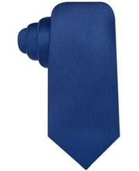 Countess Mara Pique Solid Tie Navy