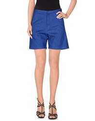 Libertine Libertine Denim Bermudas Blue